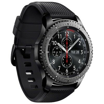 SAMSUNG GALAXY GEAR S3 FRONTIER R760 ANDROID SMARTWATCH FITNESSTRACKER UHR