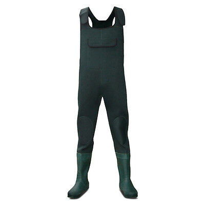 Dirt Boot® Green Neoprene Chest Waders 100% Waterproof Coarse Fishing Muck Wader Einen Einzigartigen Nationalen Stil Haben