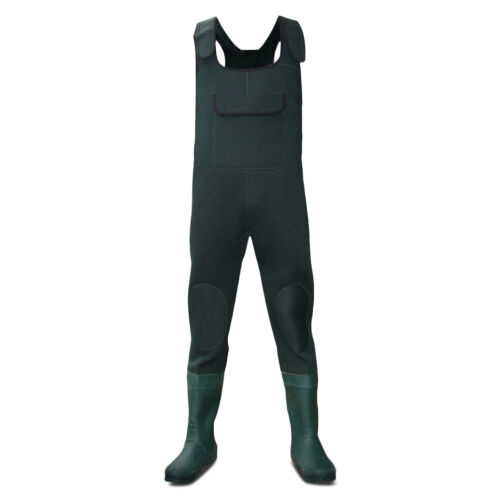 Dirt Boot® Green Neoprene Chest Waders 100/% Waterproof Coarse Fishing Muck Wader