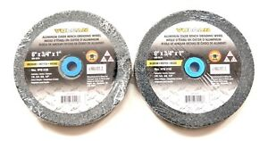 Details About 2 Vulcan 6 Bench Grinder Grinding Wheel Stone 3 4 Thick Medium Emory A O 2078