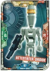 Lego-Star-Wars-Serie-1-Cartas-Coleccionables-Tarjeta-146-Attentater-Droide