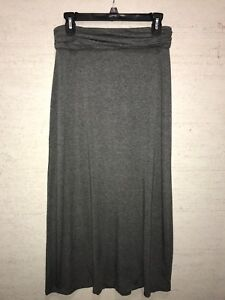 undefeated x uk store top-rated Details about LN J.Crew Gathered Waistband Charcoal Gray Maxi Skirt Size XXS
