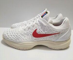 9b034c36b3a6 Nike Air Zoom Cage 3 HC Hard Court Rafa Nadal Tennis Shoes Sz 10 ...