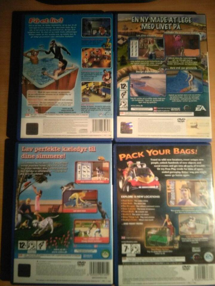 The Sims Samling, PS2, simulation