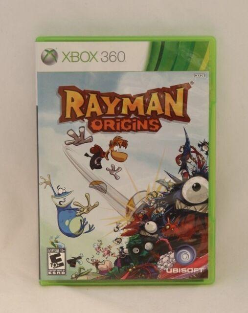 Rayman Origins (Microsoft Xbox 360, 2011) Ubisoft Pre-owned
