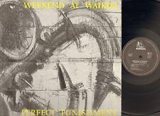 WEEKEND at WAIKIKI Perfect Punishment LP 1986 Tophole NEDERPOP Dutch New Wave
