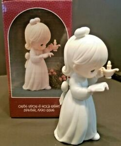 Precious-Moments-034-Once-Upon-A-Holy-Night-034-Figurine-Special-1990-Issue