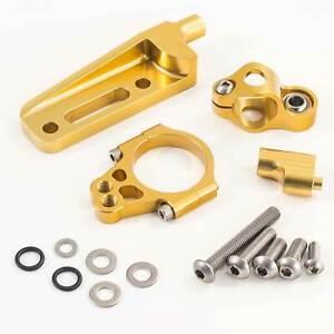 Hyperpro-Motorcycle-Steering-Damper-Gold-Fitting-Kit-MK-SU10-O002
