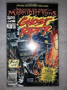 Ghost Rider #28 1st Midnight Sons Newsstand Variant NM Sealed Marvel Comic 1992
