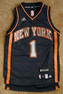 6b99b821b AMAR E STOUDEMIRE New York Knicks 1 black jersey size SEWN size ...