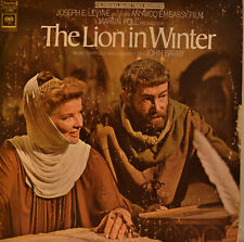 """OST - SOUNDTRACK - THE LION IN WINTER - JOHN BARRY 12"""" LP (L958)"""
