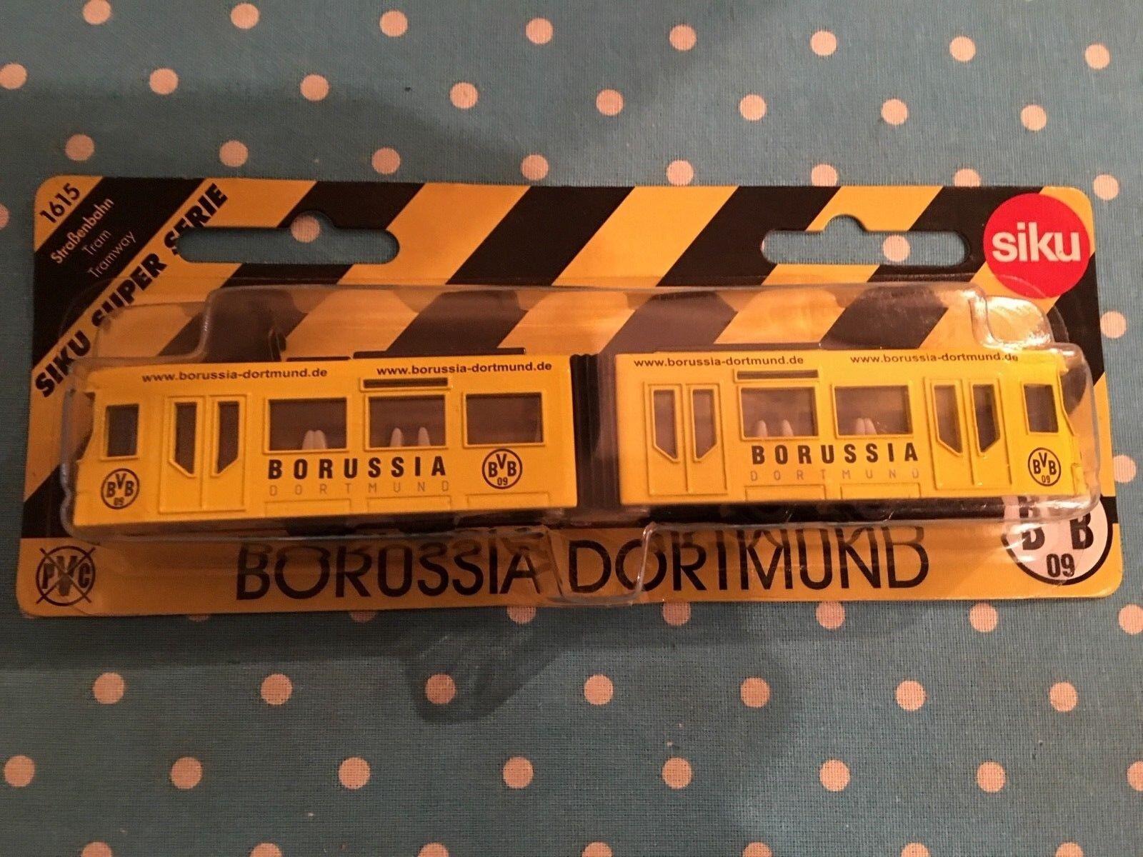 Siku Super Serie Strassenbahn Borussia Dortmund BVB Rarität
