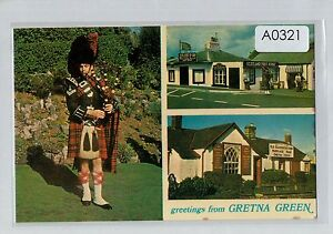 A0321aps-UK-Gretna-Green-Piper-Multiview-postcard