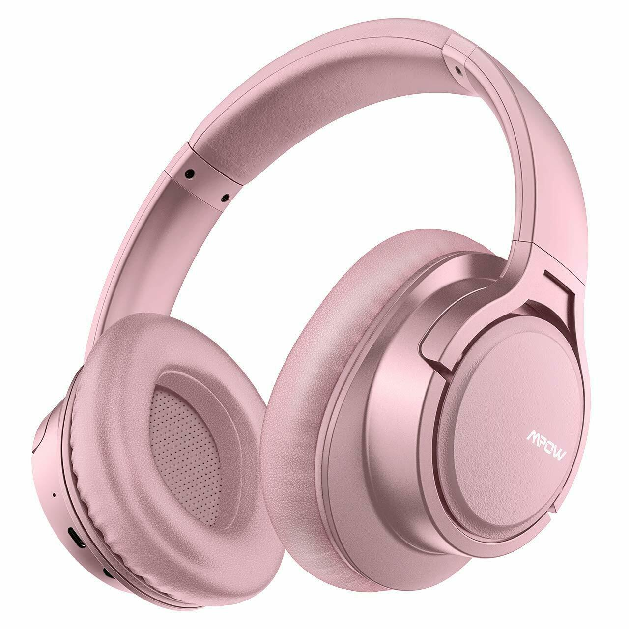 MPOW H7 Noise Cancelling Bluetooth Headphones ANC Over-Ear W