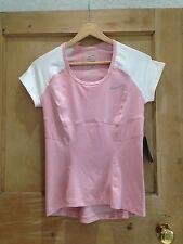 Nike TENNIS TOP size S 6 8 DRIFIT Pink White BNWT