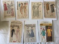 Vintage Sewing Pattern Lot 40's 50's 60's Advance Simplicity Butterick Hollywood