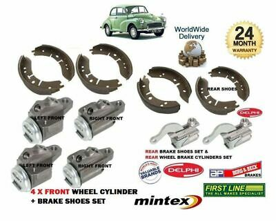 MORRIS MOGGY MINOR 1000 1962-1971 NEW 4 x FRONT BRAKE WHEEL CYLINDER SET