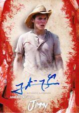 The Walking Dead Survival Box Autograph Card James Allen McCune As Jimmy
