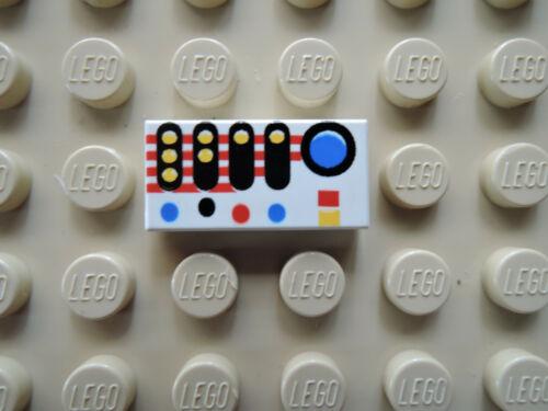 Lego 1 x Fliese 3069p30   weiß 1x2 bedr Armatur 6958  6458 6982 4541