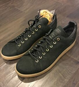 check out 08302 64498 Adidas Stan Smith WP Shoes Sneakers Men's B37872 New Black ...