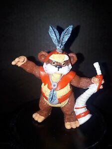 Ewoks Star Wars Bandes dessinées originales en Espagne, chef en figurine vintage, Chirpa