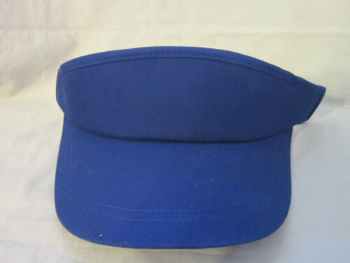 New Yupoong Blue One Size Fits All Sports Mens//Womens Visor Cap Hats