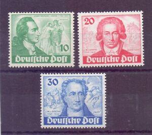 Berlin-1949-Goethe-MiNr-61-63-postfrisch-Michel-320-00-397