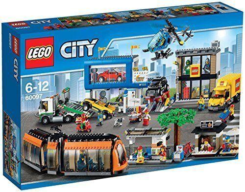 LEGO ® città 60097 centro città Nuovo nuovo OVP MISB   alta qualità genuina