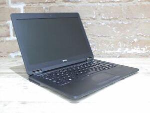"""Dell Latitude E7250 12.5"""" Laptop i5 5th Gen 128 GB 8 GB Win 10 Grade D 431423"""