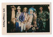 1970s Swedish Pop Star Card #573 American YMCA Disco group Village People
