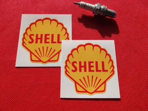 """Pair of 3/"""" Classic Shell stickers"""