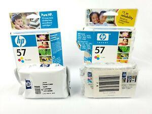 Hewlett-Packard-HP-57-58-Tri-Color-Inkjet-Print-Cartridge-Expired-2004-Lot-of-4