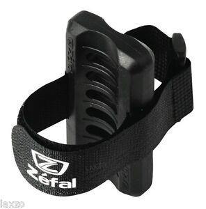 Zefal Universal Pump Clip Black Mtb Mountain Bicycle Bike Bracket Ebay