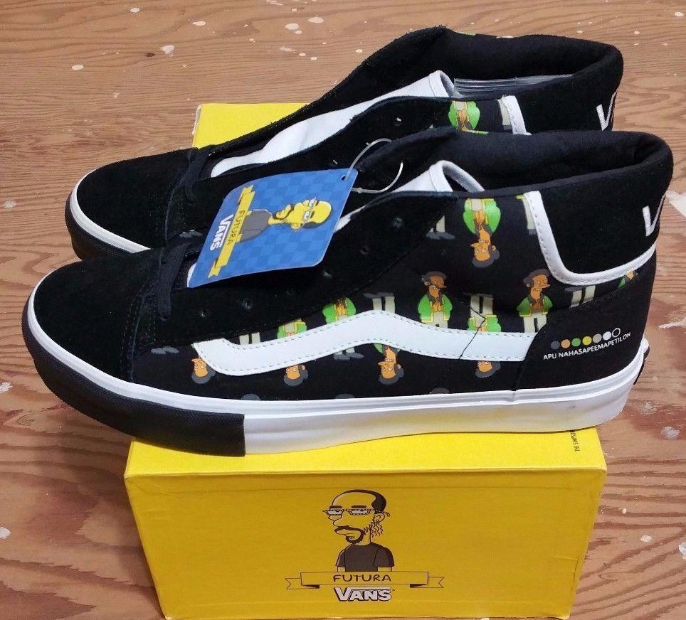 Vans X The Simpsons X Futura Mid Skool Dimensione 11 11 11 supreme hosoi wtaps syndicate c1f4bd