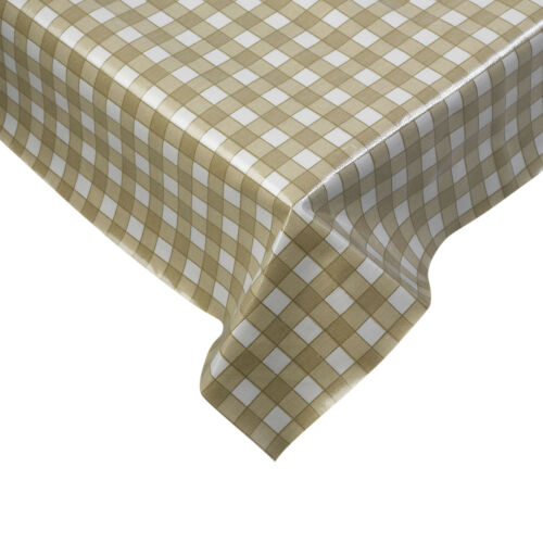 Tablecloth Traditional Gingham Check 100/% Cotton Picnic Kitchen Table Linen