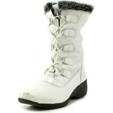 Totes Liz Women US 9 White Winter Boot Pre Owned  1215
