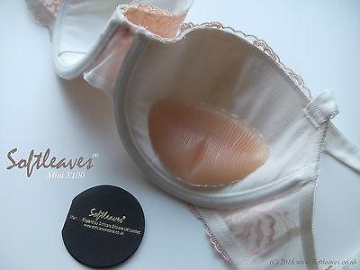 Softleaves Mini X100  Silicone Breast Enhancers Pads Bra Inserts Pushup bra