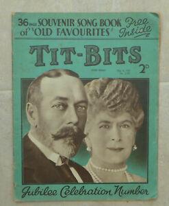 Magazine-general-interest-039-Tit-Bits-039-2-issues-1935-1967