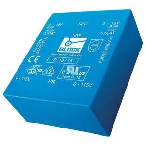 Bloc Fl 14/15, 14 Va Profil Bas Pcb Transformateur 2 X 115 V Pour 2 X 15 V-afficher Le Titre D'origine Jv9a2ya9-07225353-793450953