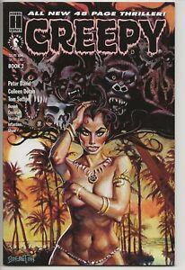 CREEPY-BOOK-2-NM-9-6-9-8-Harris-Comics-48-pgs-Peter-David-Busiek-Cockrum-Shaw