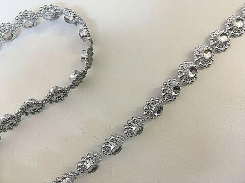 Pearl Diamante Sequin Assorted Braids