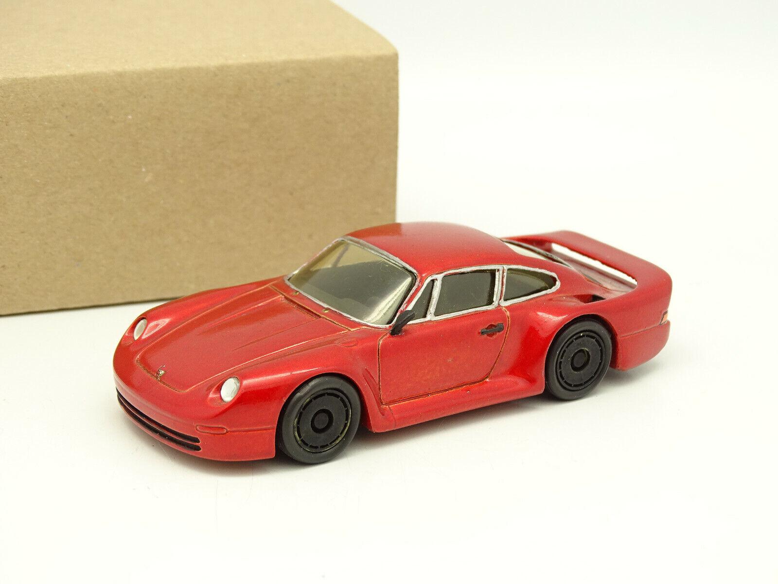 Provence Moldura Kit Montado Resina 1 43 - Porsche 911 959 Grupo B Rojo