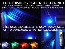 Technics sl1200 / 1210 ULTRA Brite Led Kit con direzionale SMD LED luce Stylus