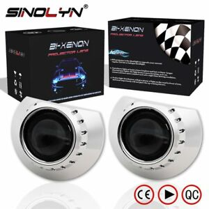 For-BMW-3-Series-E46-2-5-H1-HID-Bixenon-Projector-Lens-AL-ZKW-Headlight-Retrofit