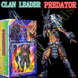 New-PREDATOR-Deluxe-Clan-Leader-Neca-action-figure-Ultimate-BOX-Gift-Toy-Model