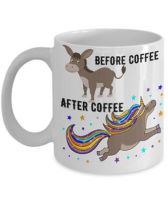 Gift 11 oz Mug Coffee//Tea Beautiful Unicorn