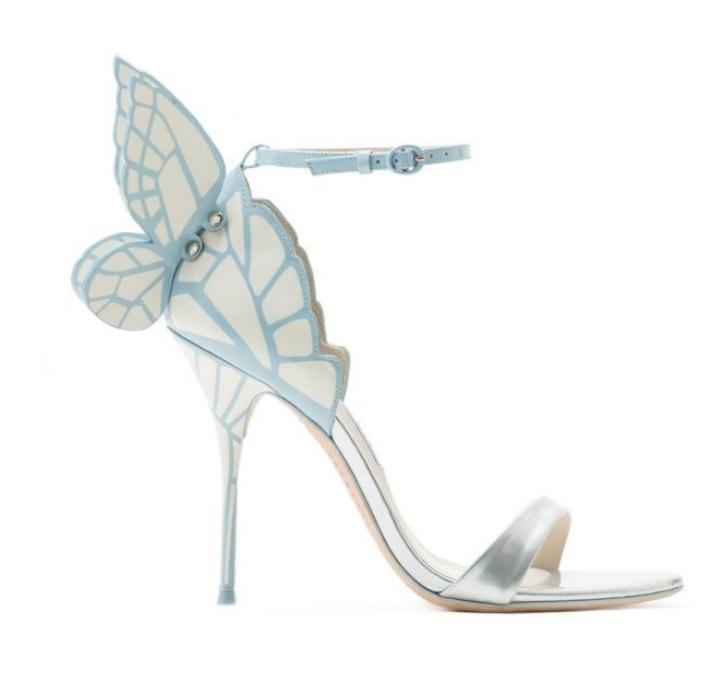 Womens Open Open Open Toe Pumps High Heels Sandals Butterfly