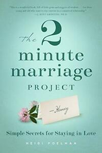 The-Two-Minute-Marriage-Project-Heidi-Poelman-Good-Condition-Book-ISBN-193962