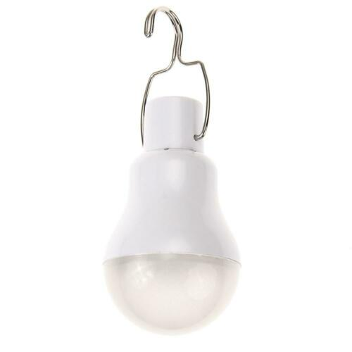 Rechargeable USB LED Bulb Lamp Outdoor Lighting Camp Tent Fishing Lamp P4PM