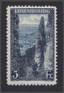 Luxembourg 1923 Echternach 3fr